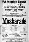 Maskarade: An opera by Carl Nielsen